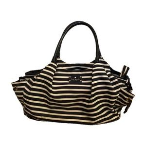 Kate Spade Diaper Bag - Striped Stevie